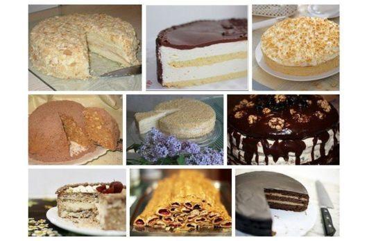 9 Рецептів усіма улюблених тортів з дитинства