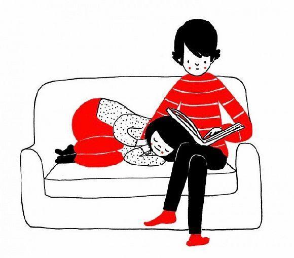 15 Теплих ілюстрацій про спонтанне прояві любові