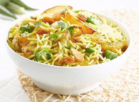 Біріяні - рис, запечений з овочами