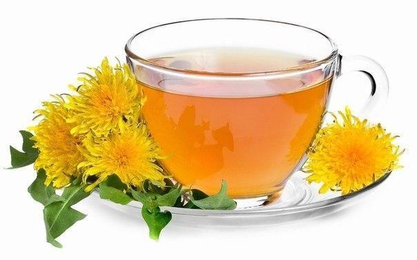 Чай з кульбаб проти болю в суглобах !!!