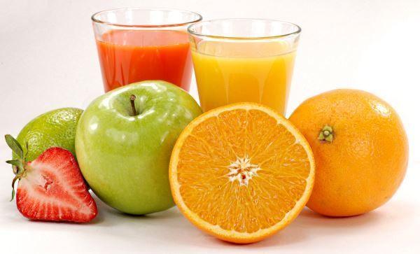 Cоки зі свіжих овочів і фруктів