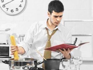 чоловік кулінар