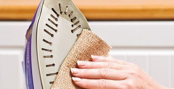 Як очистити поверхню праски від нагару. 10 ефективних способів