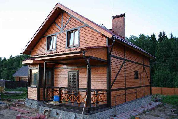 види дерев`яних будинків