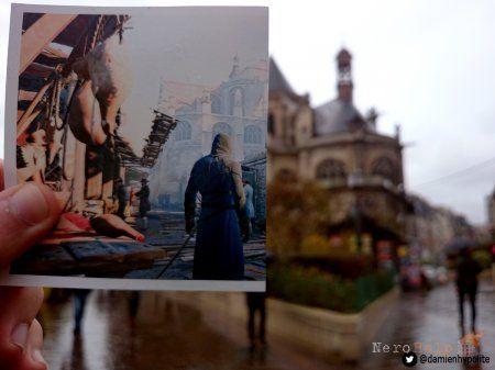 Локації Assassin`s Creed: Unity в реальному житті