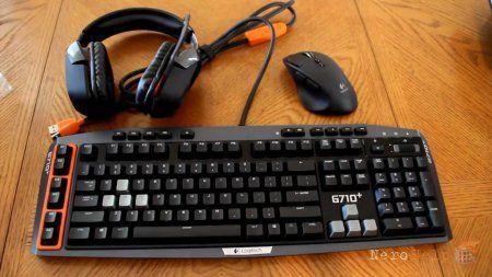 Огляд геймерской клавіатури Logitech G710 +