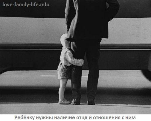 Батько і дитина після розлучення. Батько в житті дитини після розлучення
