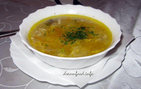 Пілешка - болгарський курячий суп