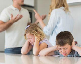 Розлучатися чи якщо є діти?