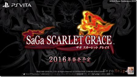 SaGa: Scarlet Grace - ексклюзивна JRPG для PlayStation Vita від Square Enix обзавелася фінальним назвою і новим тизером