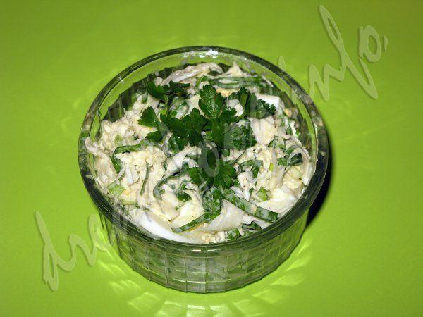 Салат з черемші і хрону