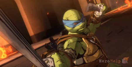 TMNT: Mutants in Manhattan - Platinum Games показала геймплей за Леонардо