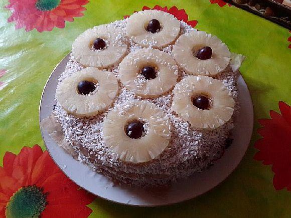 Торт «нектар шріматі радхарані»