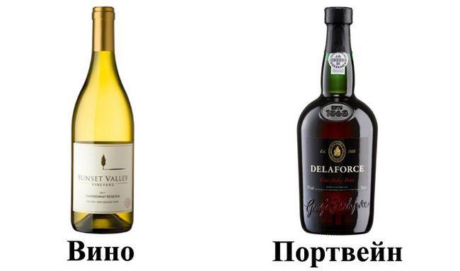 Вино і портвейн