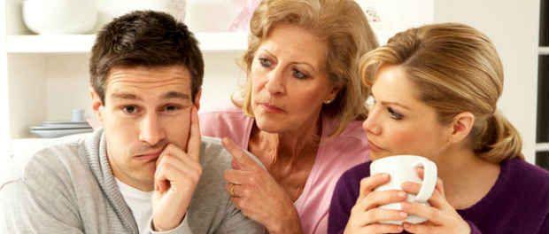 Життя з батьками або де жити молодій сім`ї?